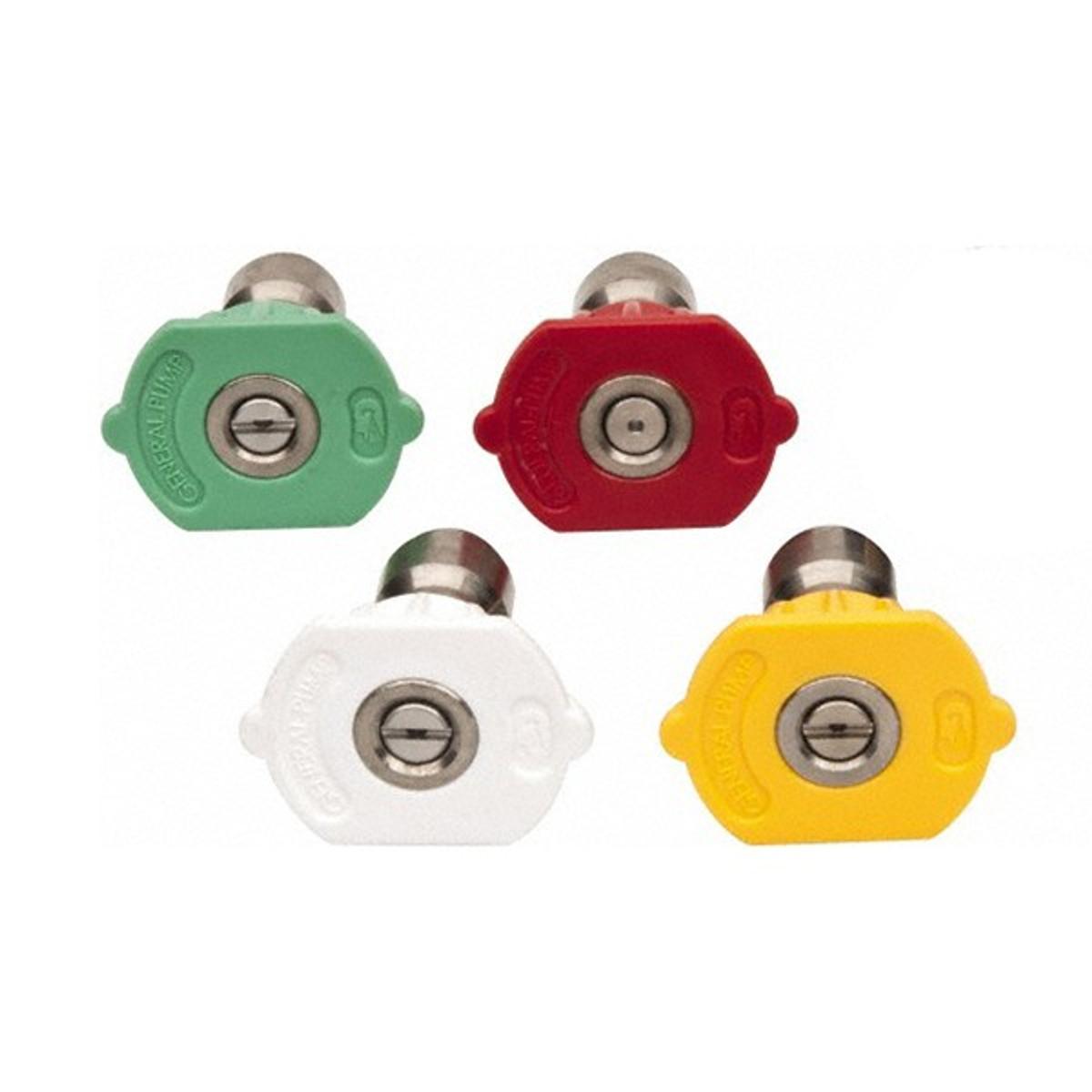 Green QC Nozzle 10pk 25 Degrees, Size #3.5