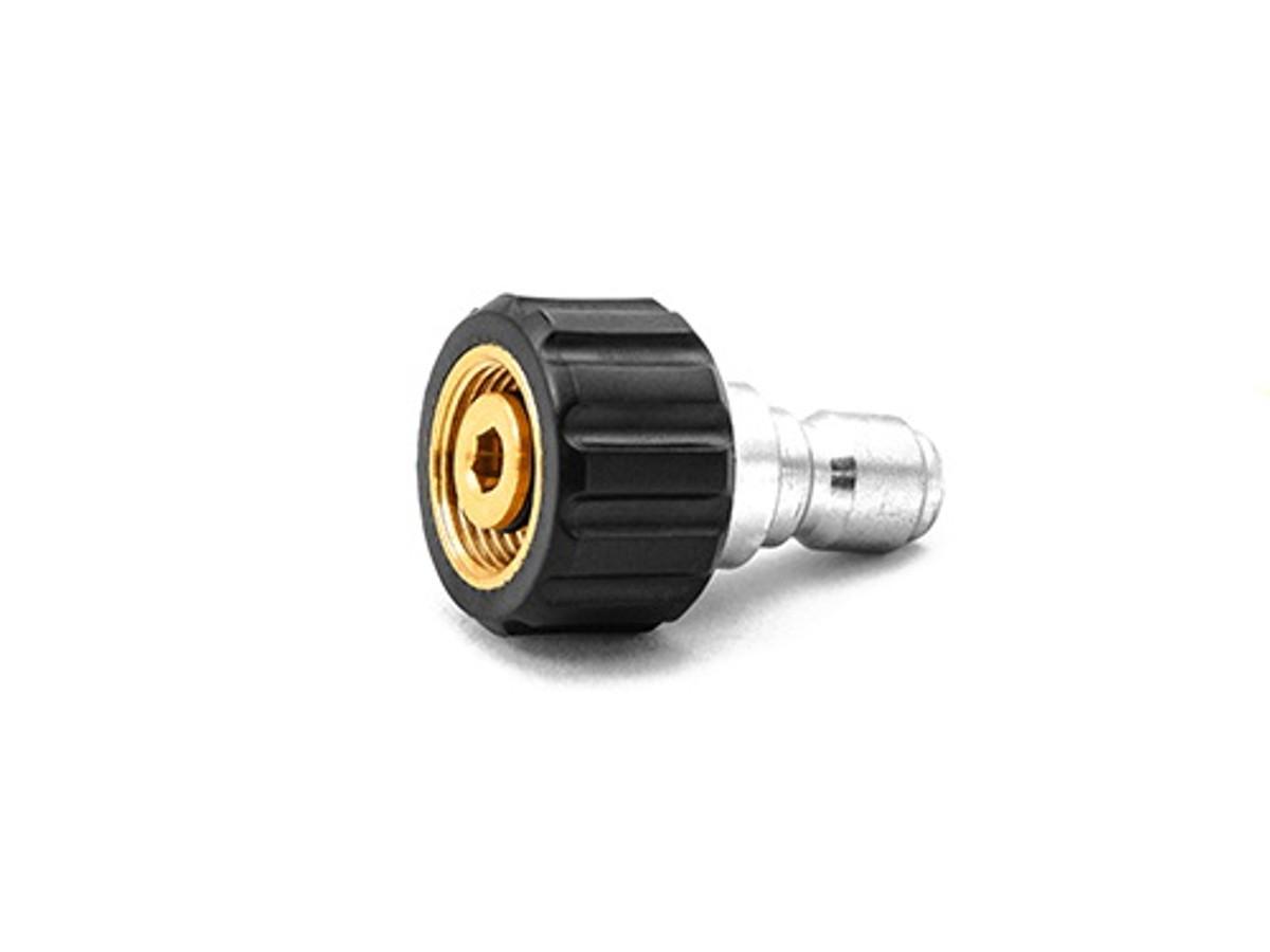 "MTM  3//8/"" Hose QC Brass Coupler X M22 M 15MM Plug Pressure Washer Hose"