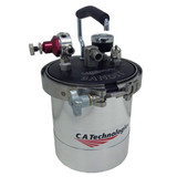 C.A. TECHNOLOGIES/ C.A.T. 51-602 BANDIT 2 QUART REMOTE DOUBLE REGULATION w/ 15PSI GAUGE