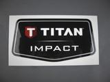 Titan 0552676 / 552676 / 805-810 Impact Faceplate Label -OEM