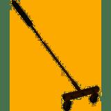 """General Pump 100869C Water Broom 12"""" W/ 36"""" Lance"""