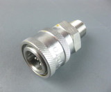 "MTM Hydro 24.0062 Stainless Steel QC Socket 1/4"" MPT"