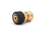 MTM Hydro 24.5005 3/8 QC Brass Coupler x M22 F 15MM Twist Coupler