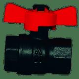 MTM Hydro 20.0027 1/4 FxF Brass Ball Valve 600PSI