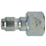 """General Pump D11006 Zinc-Plated Plug 1/4"""" x 1/4"""" NPT-F"""