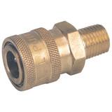 General Pump D10002 Brass Coupler 1/4 QC x 1/4 NPT-M