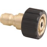 """General Pump D10037 Coupler QC Plug 3/8"""" NPT-F x M22"""