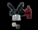 Titan TR2 Dual Spray Tip and Black Guard Assembly 692-521 Set