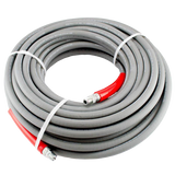 MTM Hydro 29.5216 KobraJet 50' 6,000 PSI Non-Marking Grey Hose w/ Red Covers