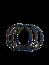 Wagner Earlex PACC66 / 2363097 Pro 8 Gravity-Fed Cup Lid Gasket 3pk OEM