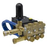 General Pump PMRTSS1511 Fully Plumbed 3500 PSI 4.0 GPM 24mm Solid Shaft Belt Drive Triplex Plunger Pump (1450 RPM)