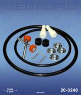 Bedford 20-3240 Replacemenmt IPM 601002 Air Motor Repair Kit for 840902 & 840903