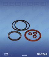 IPM 601005 / Bedford 20-3242  Air Motor Repair Kit for 810101, 810102, 810103, 810104, 810105
