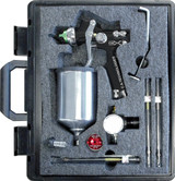 C.A. Technologies CAT-X-B-W Gravity CAT X Black Wood Pack Spray Gun