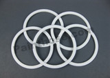 Bedford 55-87 Replacement Devilbiss TGC-9-K5 Cup Lid Gasket 5pack Bedford 55-87