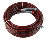 "Titan 0523043 / 523043 Maroon 1/4"" x 35' Airless Paint spray Hose 3300psi"