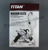 Titan CAPSpray 0524052 or 524052 HVLP Maxum Elite Gravity Gun - OEM