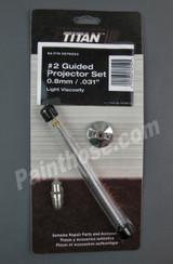 Titan CAPSpray 0276254 or 276254 #2 Projector Set / Proset - OEM