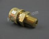 """MTM Hydro 24.0068 Brass QC Socket 1/4"""" MPT"""