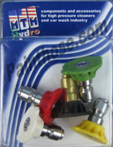 MTM Hydro 17.0206 QC Hydrojet SS 6.5 Power Washer Tips 5 pack