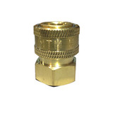 """MTM Hydro 24.0071 Brass Quick Connect Socket 1/2"""" FPT"""
