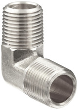 """High Pressure Fitting 1""""M x 1""""M Male Elbow 5000 PSI"""