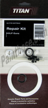 Titan Capspray 0277943 or 277943 HVLP Spray Gun Repair Kit
