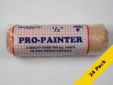 """PRO ROLLER Pro Painter Prof. Polyester Paint Roller Cover 3/8"""" x 9"""" USA 24 Pack"""