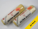 """PRO ROLLER Ultra Blend Paint Roller Cover 3/8"""" x 9"""" USA 24 Pack"""