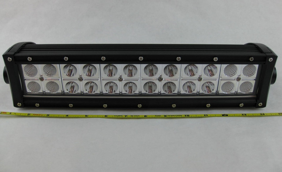 "Prosource 15"" CREE LED Off-road Light Bar 6,000K Combo Beam"