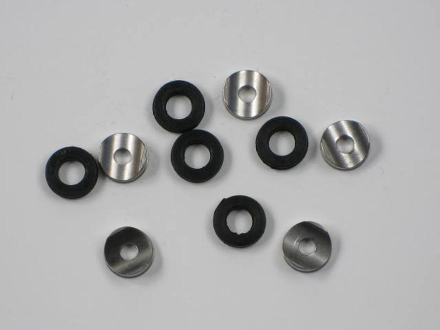 Prosource Tip Seals / Seat  1-set Rubber & Metal fits Wagner Spraytech Titan others 243281