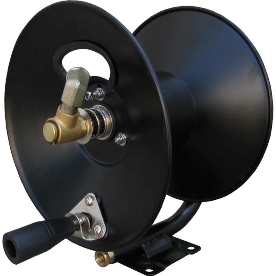 "General Pump D30002 100' X 3/8"" 4000 PSI Pressure Washer Steel Hose Reel"