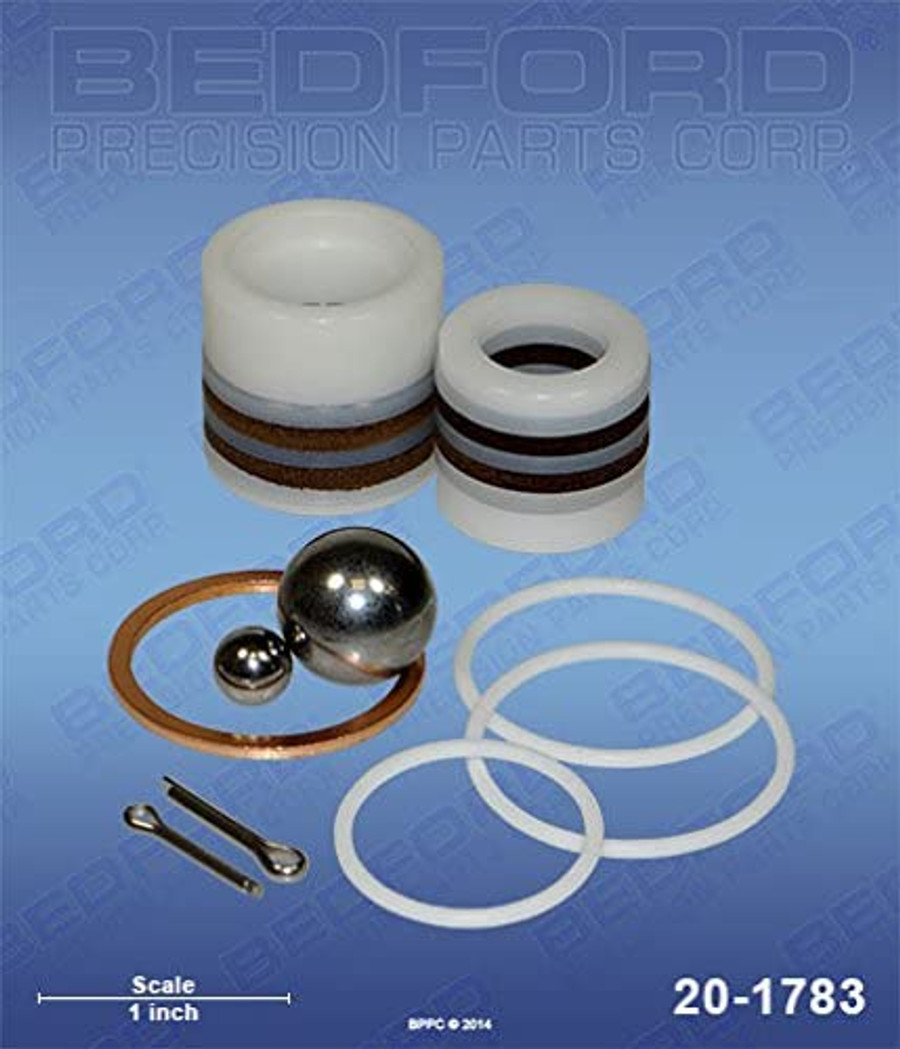 Bedford 20-1783 Packing Repair Kit For Amspray 4235