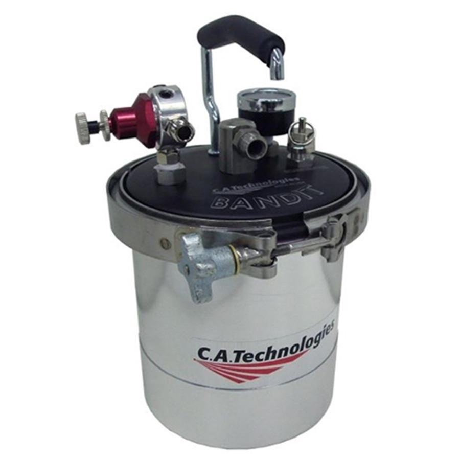 C.A. TECHNOLOGIES/ C.A.T. 51-602-SP BANDIT 2 QUART REMOTE DOUBLE REGULATION w/ 60PSI GAUGE