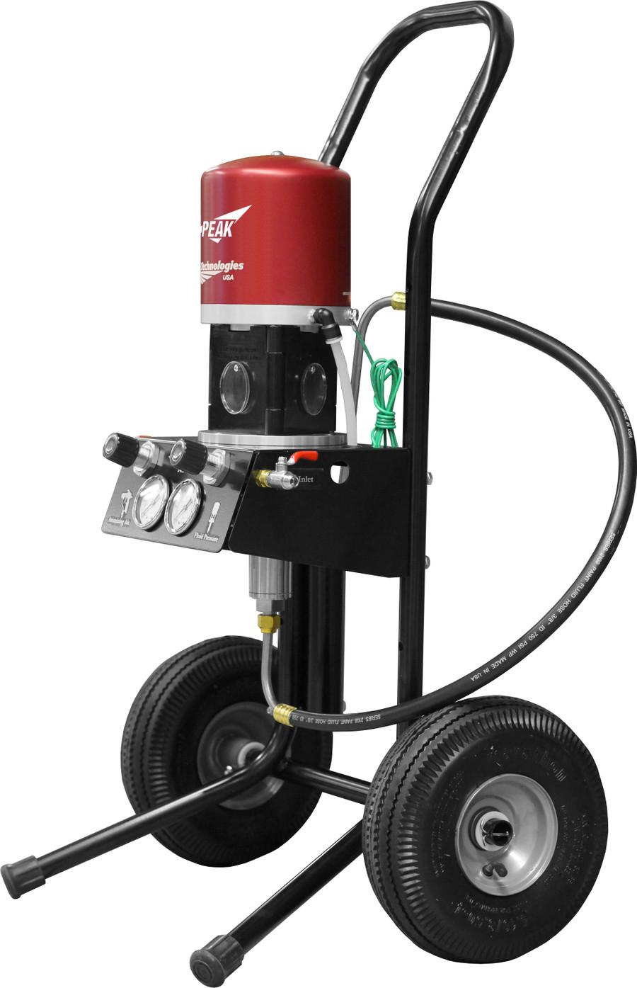 C.A. Technologies PK-OB14-C5-211 Air Assist Airless 14:1 Peak Performance Fine Finish Pump w/ Bobcat Gun