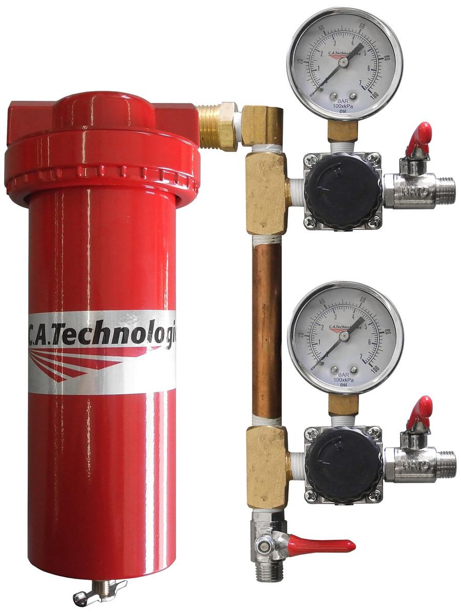 C.A. Technologies 52-513 Extractor w/ Double Regulators & 3 Ball Valves