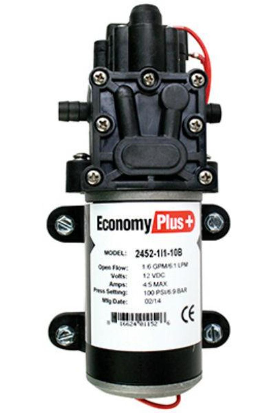 Remco Economy Plus 2400 1.6GPM 100PSI 12V Demand Pump 2452-1I1-10B