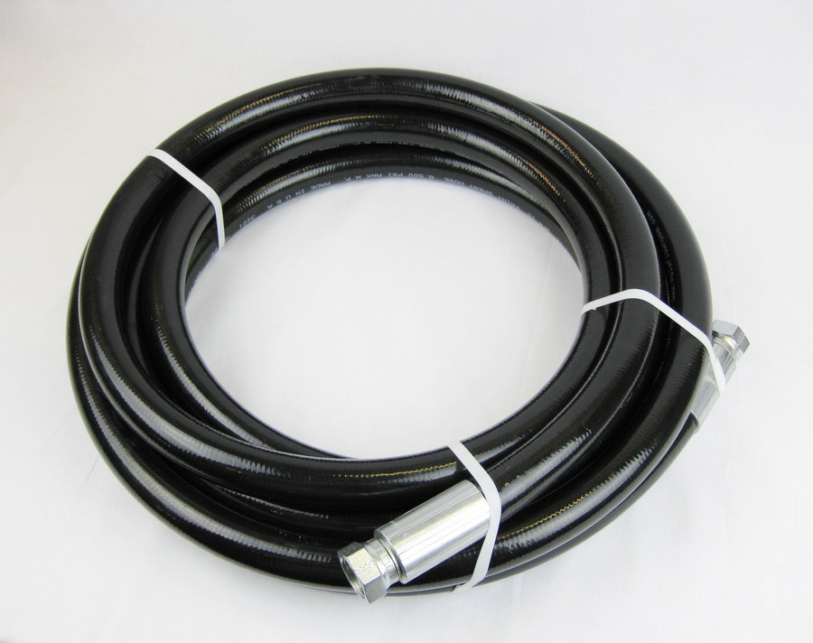 Poly-Flow Series 4900 high pressure airless spray paint hose. 5000 PSI Maximum.