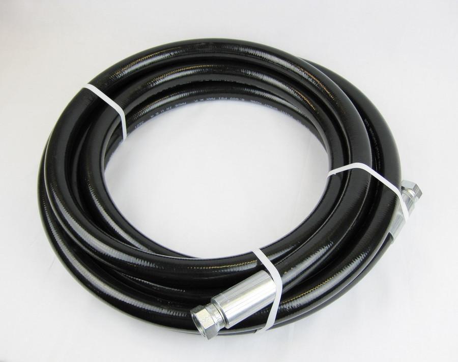 Poly-Flow Series 4900 high pressure airless spray paint hose. 3500 PSI Maximum.
