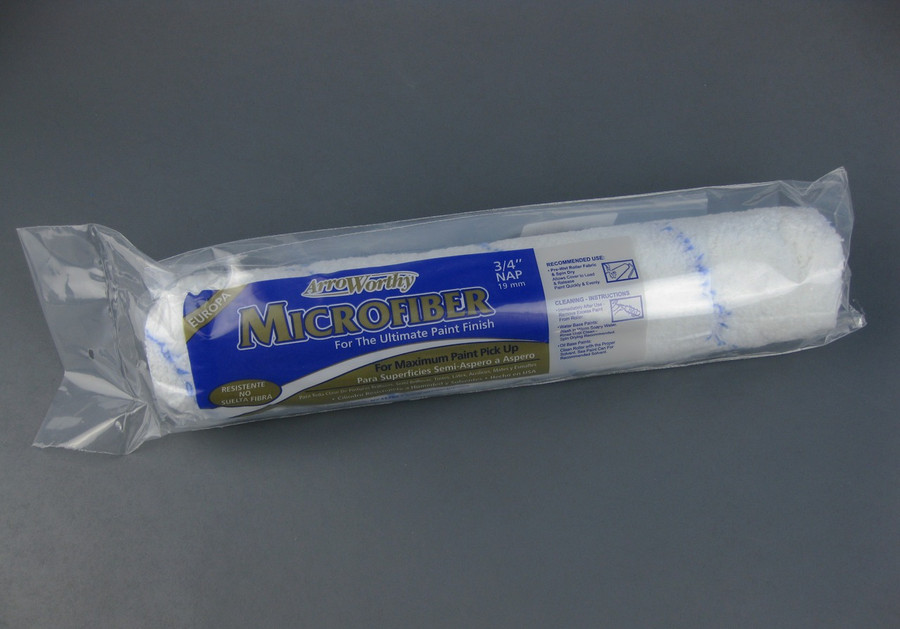 "Arroworthy mircofiber 9-pack roller cover 14"" x 3/4"" nap"