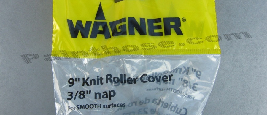 """Wagner 0155206K or 0155206 9"""" Knit Roller Perforated Cover 6 Pack"""
