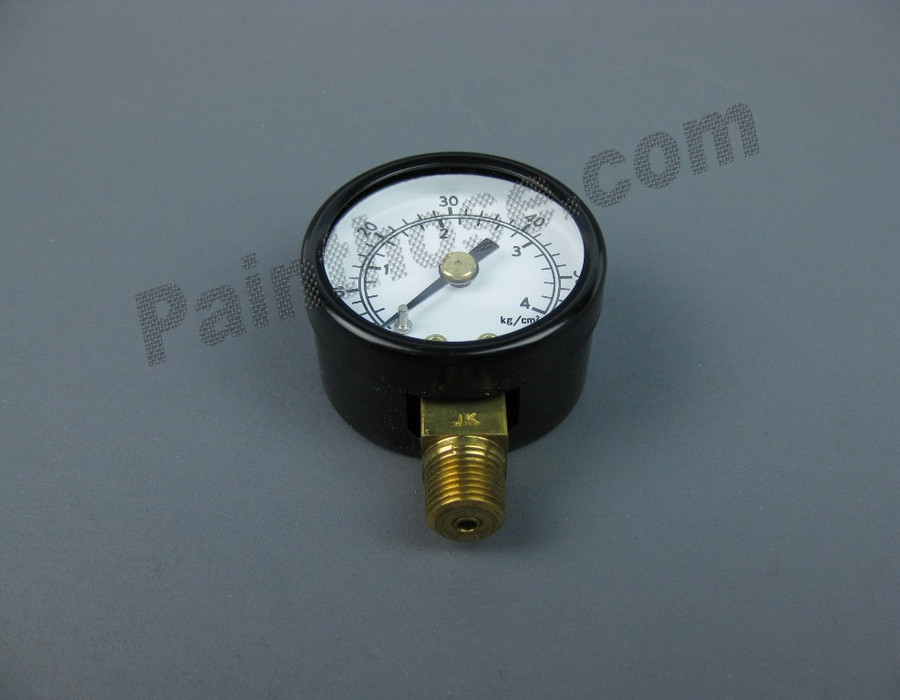 "Air Pressure Gauge 0-60 PSI 1/8"" NPT #28-1358"