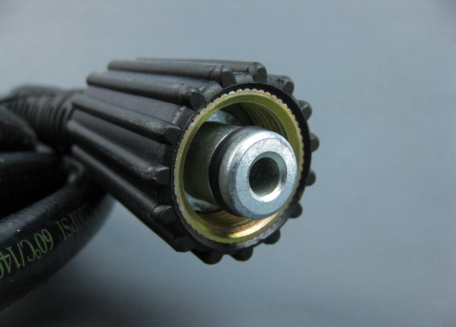 "MTM Hydro 30.0130 Pressure Washer Hose M22, 1/4"" x 25', 3200PSI"