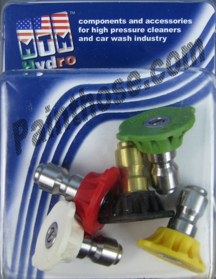 MTM Hydro 17.0171 Pressure Washer 4.0 Spray Tips 5pack