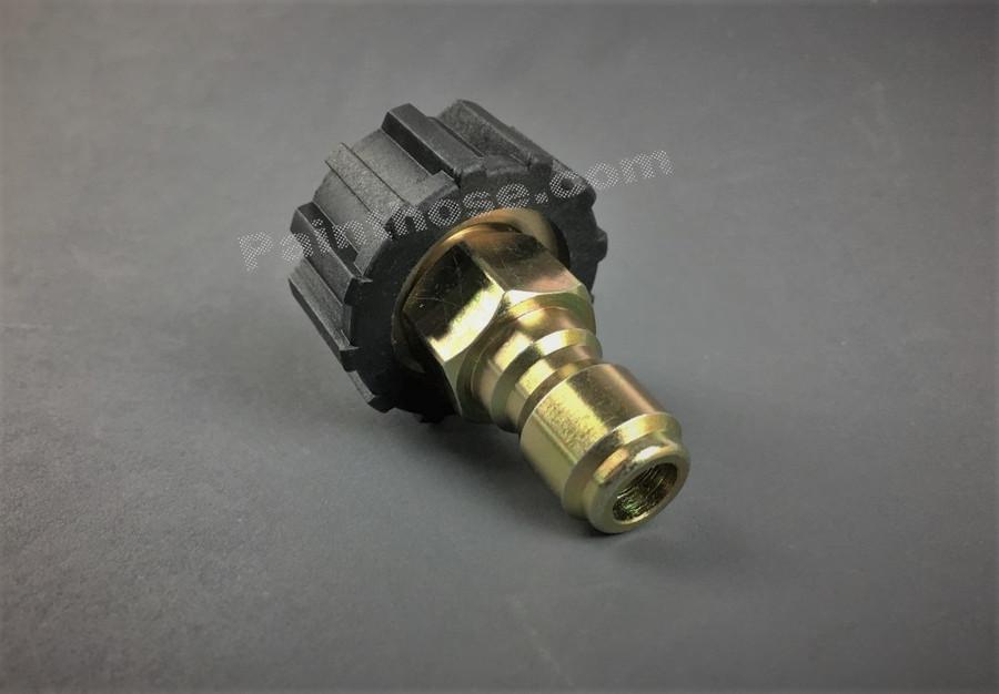 MTM Hydro 24.0446 M22 Twist Connect 14MM Coupler x 3/8 QC Plug