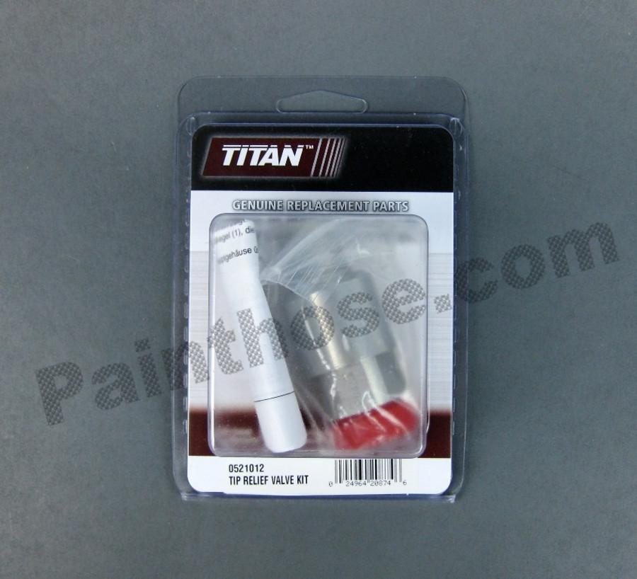 Titan 0521012 or 521012 Tip Relief Valve Kit (Anti-Spit Valve)