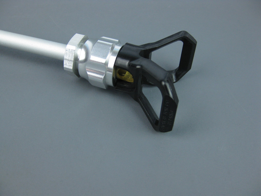 """Prosource 12"""" Tip Extension w/ Guard - 651-071 or 651071 Airless Gun Extension"""