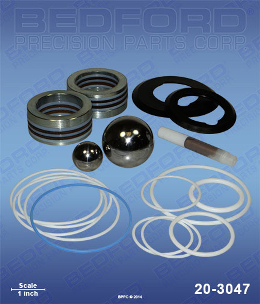 Bedford 20-3048 Replacement 24F966 or 24F-966 Packing Seal Kit