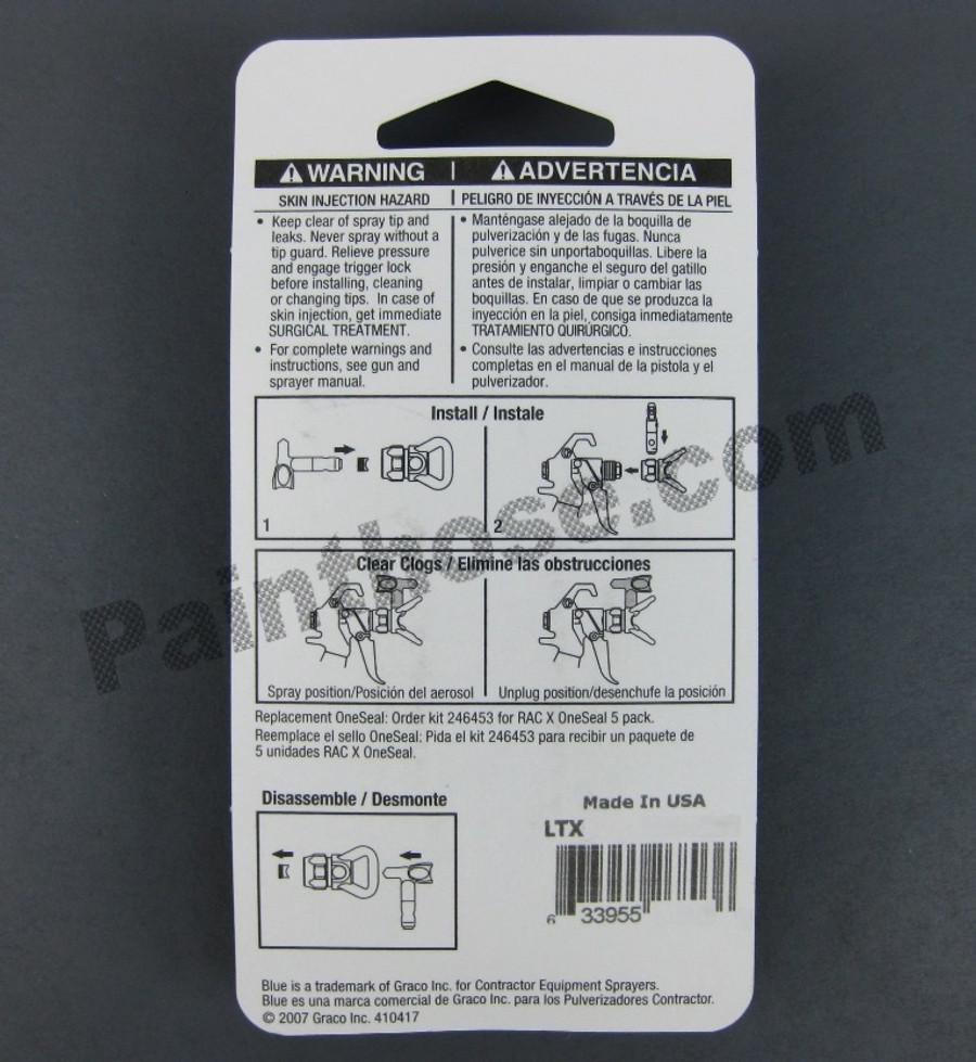 Graco LTX671 or LTX-671 RAC X Reversible Switch Tip OEM