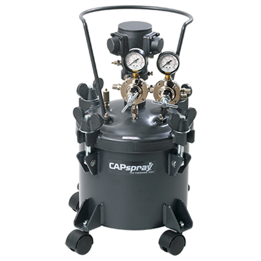 Titan CAPspray 0550952 or 550952 Manual Agitation Pressure Pot 2.5 Gallon